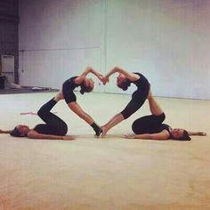 Quien sea valiente y quien practique gimnasia hágalo los (a) reto<3