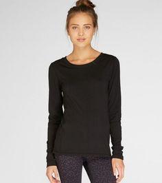Zabrina Long Sleeve in Black