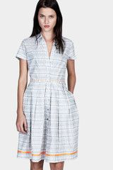 LEMLEM  sweet and simple Fitted Shirt Dress