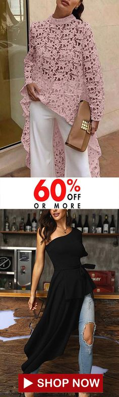 Lace Round Neck Elegant Long Blouses African Lace Styles, Summer Blouses, Holiday Fashion, Mode Inspiration, Elegant Dresses, Dress Patterns, African Fashion, Fashion Dresses, Clothes For Women