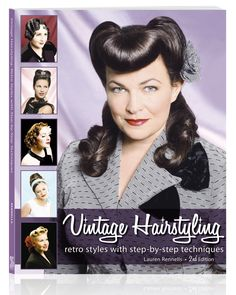 Vintage Hairstyling | Retro & Pinup Hair Tutorial Book