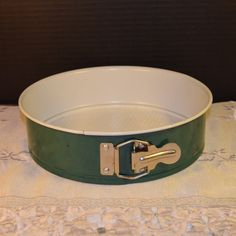 Nordic Ware Spring Cake Pan Vintage Green by ShellysSelectSalvage