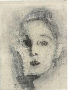 Autoportrait, 1926 by Helene Schjerfbeck Art Basics, Helene Schjerfbeck, Eclectic Art, Figure Painting, Painting Illustration, Sketch Painting, Art, Portrait Painting, Portrait Art