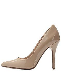 Pointed Toe Stiletto Pumps: Charlotte Russe #pumps #heels
