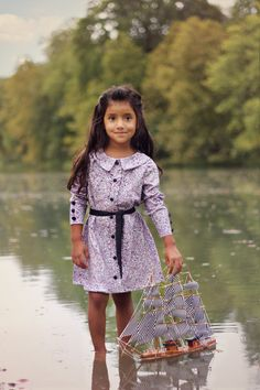 Josephine Blouse and Dress PDF Pattern Tutorial, all Sizes 2-10 years included. $10.95, via Etsy.