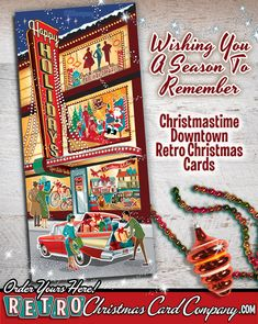 vintage christmas cards for sale