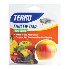 Terro Fruit Fly Trap Insect Bait Traps Ace Hardware Best Thing Ever