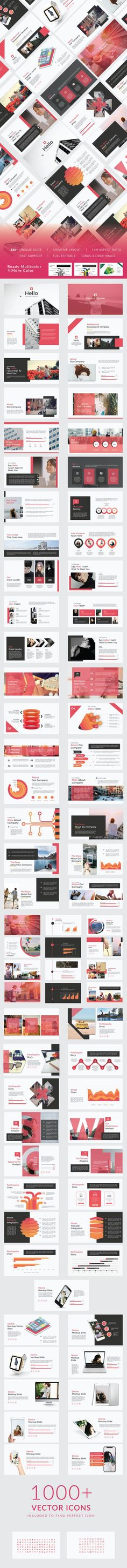 Hello Creative Keynote For Your Business