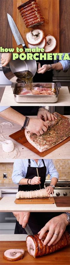 How to Make Porchetta: A step-by-step guide to how Chef and Chopped judge Scott Conant makes a classic Italian rolled pork roast.
