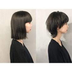 Short Grunge Hair, Edgy Short Hair, Asian Short Hair, Short Hair Cuts, Tomboy Hairstyles, Girl Haircuts, Permed Hairstyles, Mullet Haircut, Mullet Hairstyle