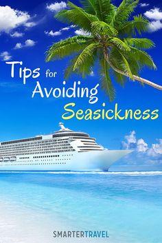 Tips for Avoiding Seasickness