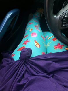 Disney inspired LuLaRoe outfit. Little Mermaid. LuLaRoe Carly dress LuLaRoe Leggings. @lularoerenefox  https://www.facebook.com/groups/812157762217896/
