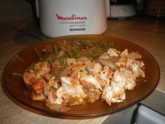 Escalope de dinde à la tomate et aux champignons (Elo18) - Recette Cuisine Companion