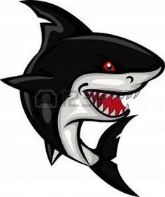 Siyah Köpekbalığı Sembol Şeffaf Clan Simge - KoSembol.NET Shark Art, Shark Fish, Fish Fish, Shark Pictures, Shark Logo, Shark Tattoos, Great White Shark, Fish Art, Rock Art