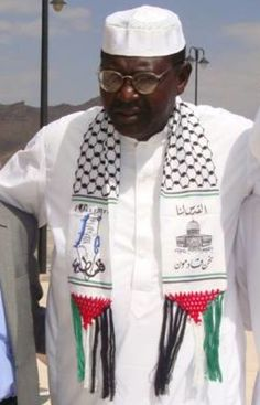 Obama's Brother Joins Hamas, wearing a scarf that proclaims 'Jerusalem Is Ours; We Are Coming'