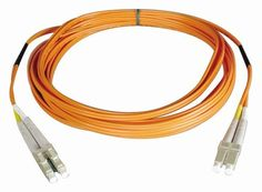 Tripp Lite N316-01M Duplex Multimode 62.5/125 Fiber Optic Patch Cable LC/SC - 1M (3feet) by Tripp Lite. $13.06. From the Manufacturer                 Don't settle for less than the best—enjoy better signal quality and faster transmission! Tripp Lite's N316-Series fiber cables assure peak performance throughout your local area network application. Unlike cut-price cables, the N316-Series is manufactured to exacting specifications, using superior materials, for a differen...