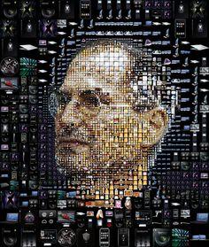 Mr. Jobs - Photo Mosaic