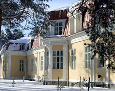 vanha synnytyslaitos, Tuiranpuisto Scandinavian Countries, Pavilion, Villas, Finland, Terrace, Art Deco, Exterior, Memories, Mansions