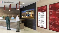 Digital Signage for Hotels | FriendMedia