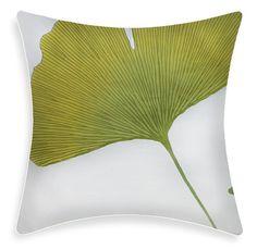 Marimekko Pillow Cover  Gingko Green 20 x 20 by ModDiva on Etsy, $37.90