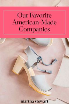Our Favorite American-Made Companies | We're paying homage to mindful makers and handcrafted finds from homegrown brands.  Here are some of our favorites.  #americanmade #marthastewart