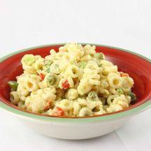 Ma recette du jour : Salade de macaroni et petits pois sur Good-recettes.com