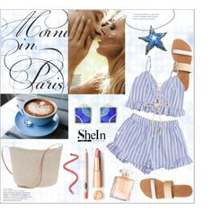 Morning in Paris Shorts Co Ord, Polyvore Outfits, Love Fashion, Fashion Ideas, Paris, Design, Women, Style, Outfit Ideas