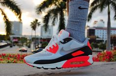 #sneakers Nike Air Max 90 Hyperfuse 'Infrared'