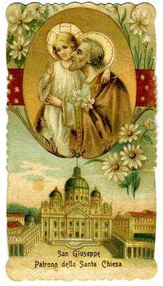 Saint Joseph, Patron of the Church