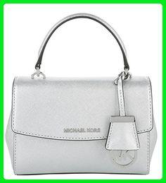 8c0612cb24890 Michael Kors Tasche – Ava XS Crossbody Silver – in silber – Umhängetasche  für Damen
