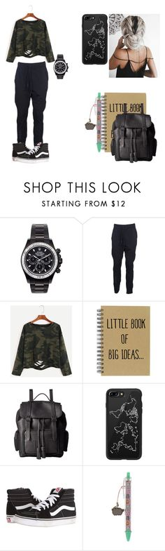 """""""Decembers 2nd look"""" by maggsxix on Polyvore featuring Mad Collections, Y-3, Dr. Martens, Casetify, Vans and Pusheen"""