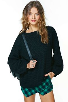 Carol Sweater - Black | Shop Sale at Nasty Gal