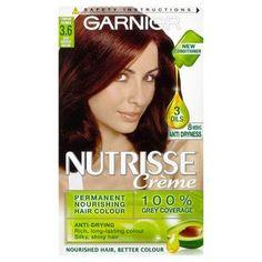 Garnier Nutrisse Crème Deep Reddish Brown 3.6