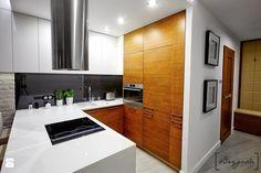Mieszkanie Warszawa/Bródno - Kuchnia, styl nowoczesny - zdjęcie od Brygida Projektuje