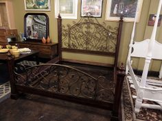 King Size Bed at New Leaf Galleries