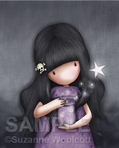 Gorjuss cards - We Can All Shine from Santoro London. Features amazing artwork from Santoro design team, click and find out more! Illustration Mignonne, Cute Illustration, Art Mignon, Santoro London, Illustrations, Copics, Clipart, Cute Art, Art Girl