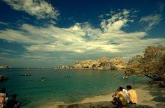 Tanjung tinggi beach,Belitung - Indonesia