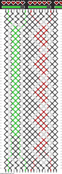 Uploading Love Friendship Bracelet Pattern #80288