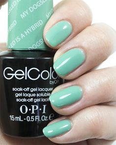 18e2577772f OPI GelColor Fall Winter 2014 Nordic Collection - My Dogsled is a Hybrid.  Shellac NailsOpi ...