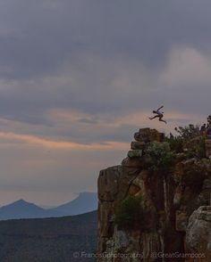 #dearGreatGrandchild - in my day... @andycarrie_on could jump over mountains in a single leap... Just like the Weekend!