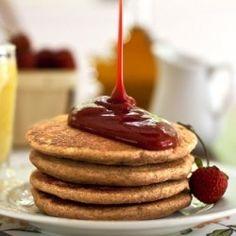 Whole-Grain Chia Pancakes