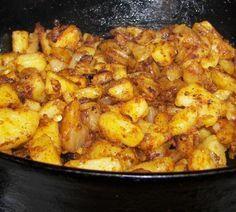 Portuguese Style Sauteed Potatoes Recipe - Low-cholesterol.Food.com: Food.com