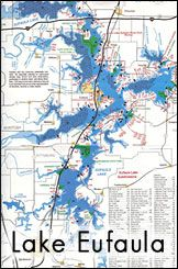 lake eufaula fishing map 30 Best Eufaula Oklahoma Images Eufaula Lake Eufaula Oklahoma lake eufaula fishing map