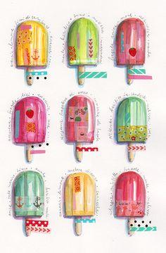 Icecream love  by Ania Simeone