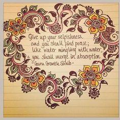 Guru Granth Sahib Guru Granth Sahib Quotes, Sri Guru Granth Sahib, Spiritual Awakening, Spiritual Quotes, Sikh Quotes, Jolie Phrase, Uplifting Thoughts, Love Truths, Love Images