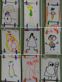Irresistible Ideas for play based learning » Blog Archive » self portraits