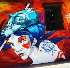 #graffiti en #bogota. #arteurbano #urbanart #sprayart  #graffitiart #photodeiby