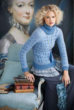 Ravelry: #19 Lace Turtleneck pattern by Blue Alvarez