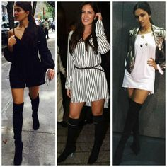 Lampshading: Everyone in Bollywood is trying to make the no pants trend happen!