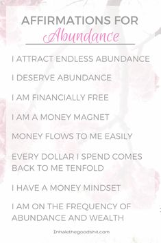 Affirmations for For Money & Wealth & Abundance Law of Attraction Read this article for the most beautifully designed affirmation decks with the most inspiring daily affirmations. Affirmations For Happiness, Money Affirmations, Positive Affirmations, Positive Psychology, Positive Mindset, Inspiring Quotes About Life, Inspirational Quotes, Motivational, Deck Of Cards